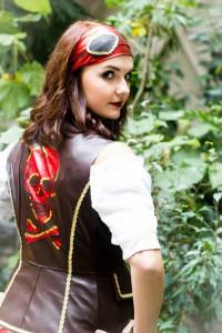 Pirat hinten