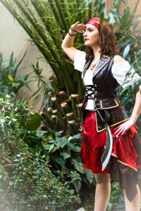 Pirat seitlich